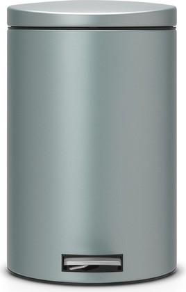 Мусорный бак 20л с педалью, MotionControl, мятный металлик Brabantia 484223