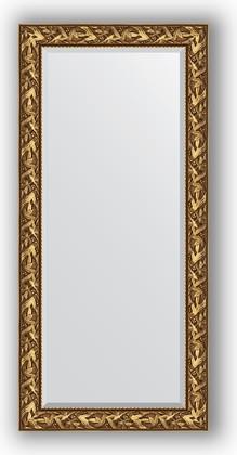 Зеркало с фацетом в багетной раме 79x169см византия золото 99мм Evoform BY 3597