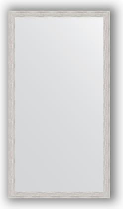 Зеркало в багетной раме 71x131см серебрянный дождь 46мм Evoform BY 3293