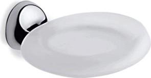 Мыльница стекло/хром Colombo MELO B1201.000