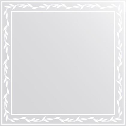Зеркало для ванной с орнаментом 70x70см FBS CZ 0723