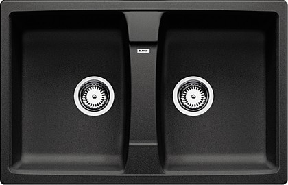 Кухонная мойка оборачиваемая без крыла, гранит, антрацит Blanco LEXA 8 514700