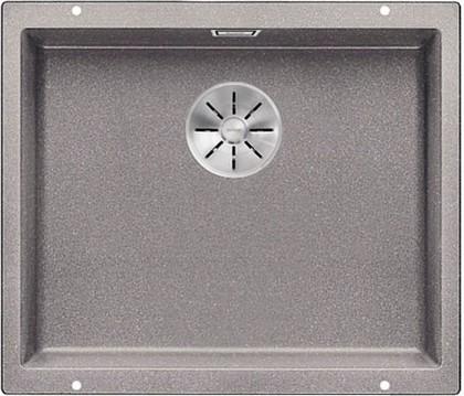 Кухонная мойка Blanco Subline 500-U, без крыла, отводная арматура, гранит, алюметаллик 523434