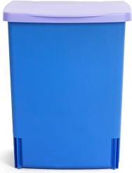 Ведро для мусора квадратное встраиваемое 10л синее Brabantia 482243