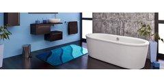 Коврик для туалета 50x60см бирюзовый Grund Duna b2602-006001135