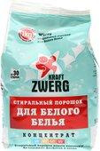Стиральный порошок Kraft Zwerg для белого белья, концентрат, 1кг 54331