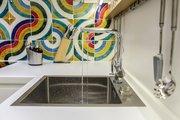 Смеситель для кухонной мойки однорычажный с подключение фильтра для очистки воды, хром Omoikiri Nagano 4994146