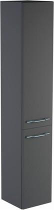 Шкаф-пенал 30см подвесной, 1 дверь + 1корзина, левый 30х32х166см Verona Area+ AA303L