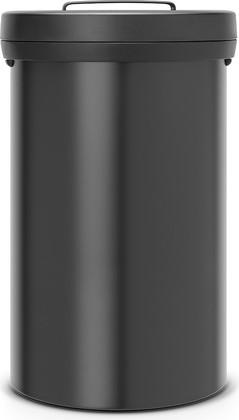Мусорный бак 60л чёрный матовый Brabantia Big Bin 402029