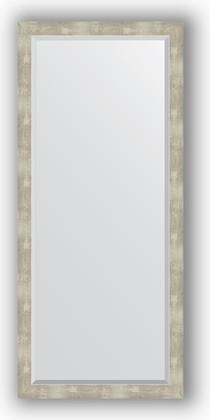 Зеркало 71x161см с фацетом 30мм в багетной раме алюминий Evoform BY 1209