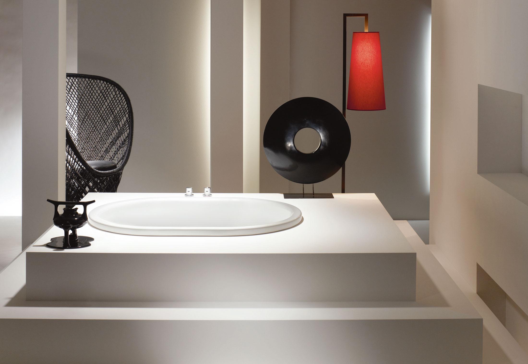 Встроенная ванна от Kaldewei. Вид А