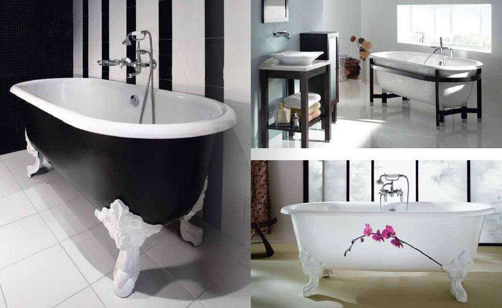 Чугунные ванны из каталога Jacob Delafon - 2014