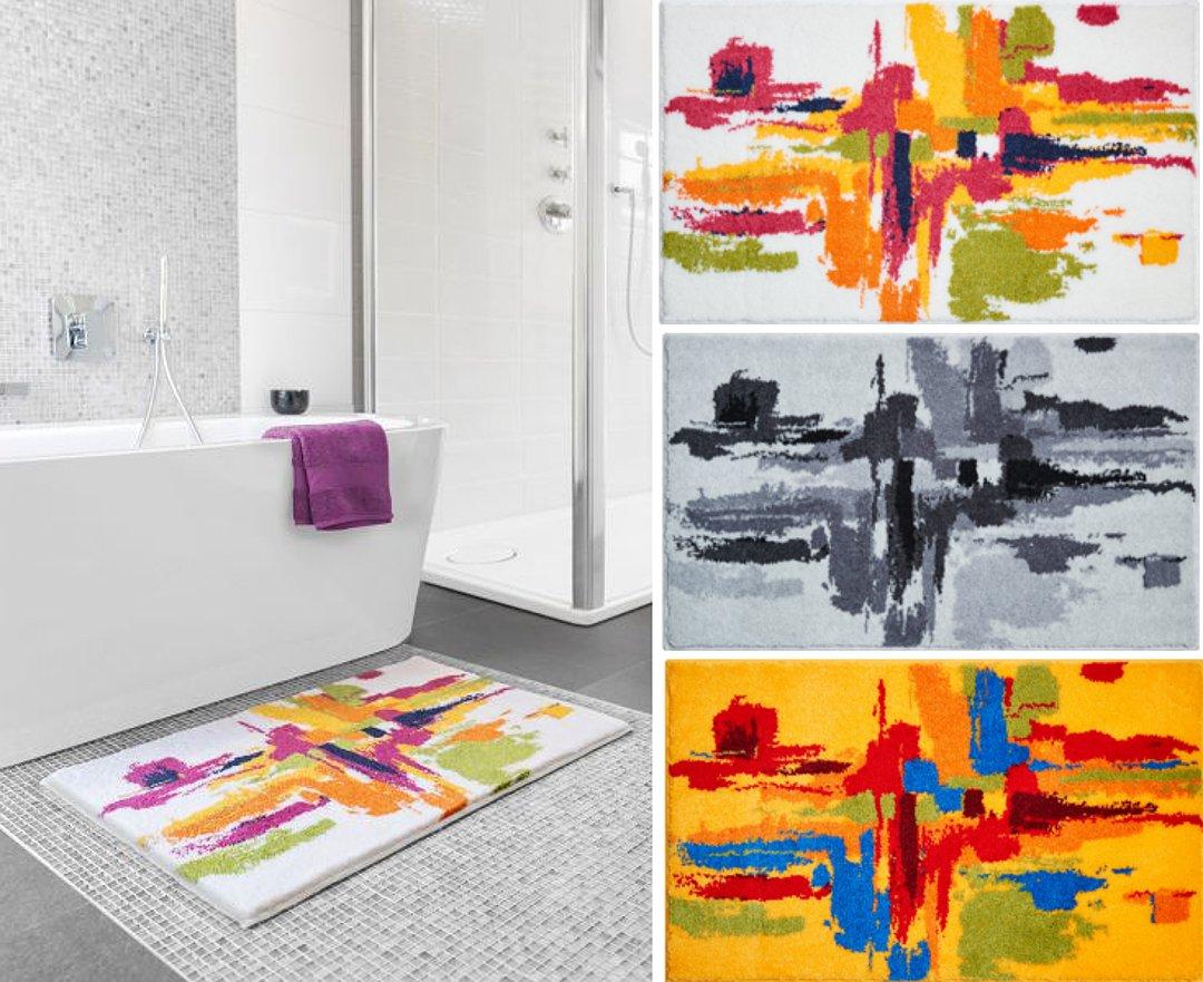 Коврики для ванной из коллекции MEZZO от Grund 2017 года: в интерьере и по отдельности