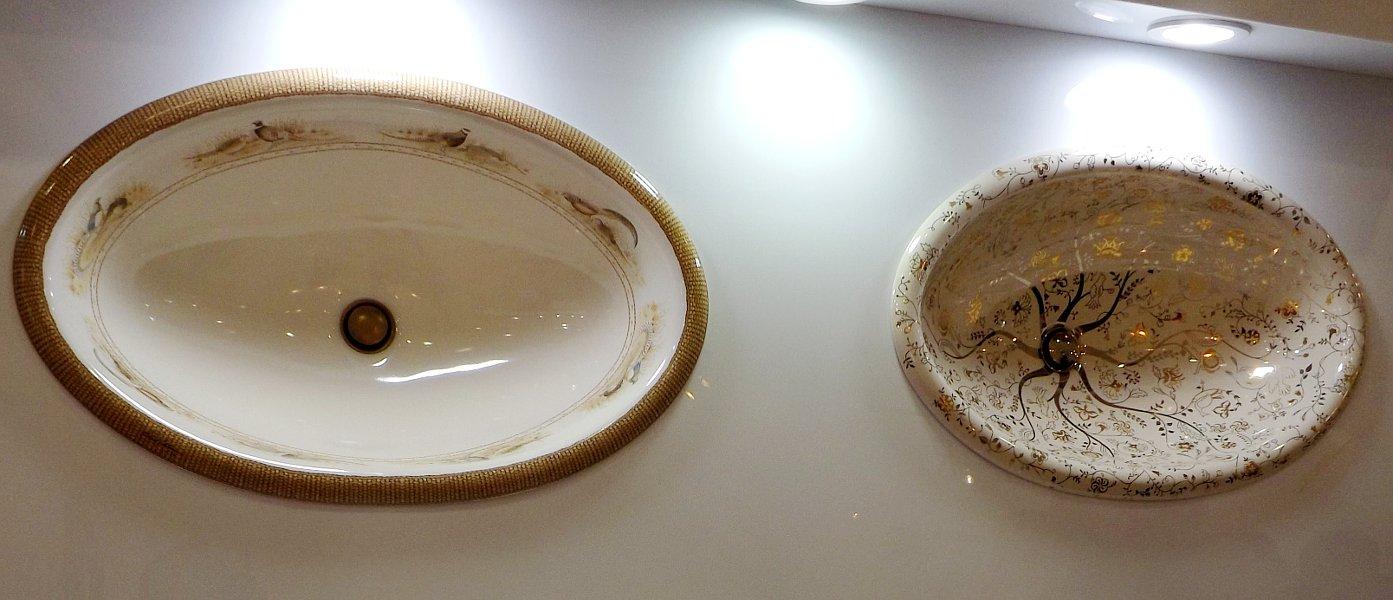 Керамические раковины с декором от Kohler на выставке МосБилд 2014