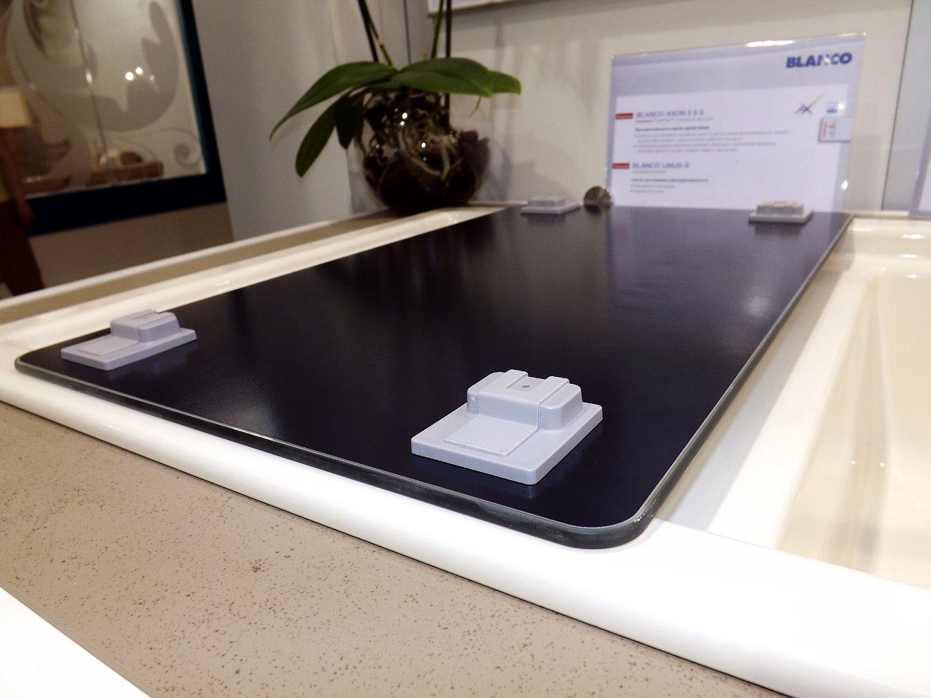 Кухонная мойка AXON 6 S и смеситель LINUS-S. Вид Д