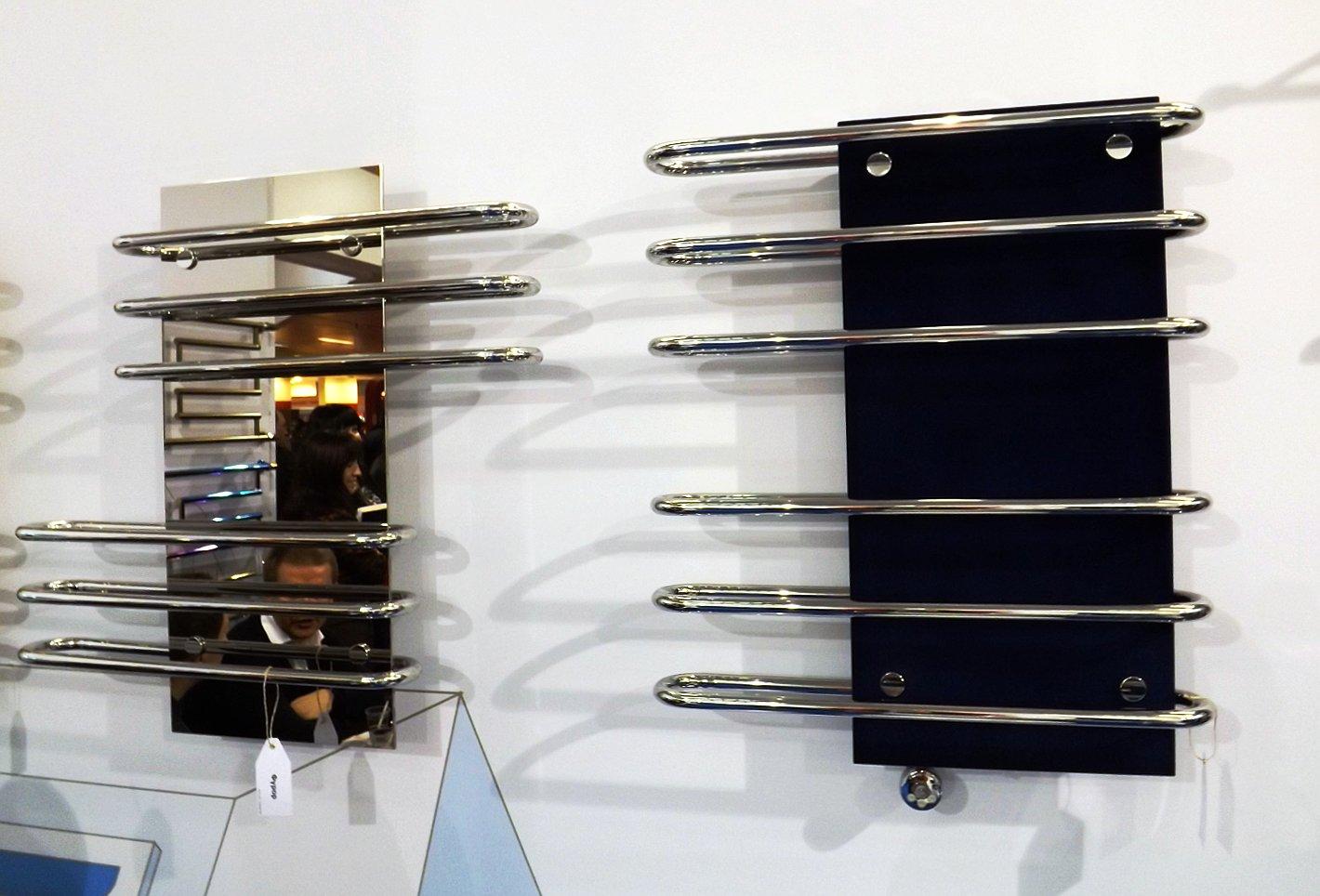 Полотенцесушители Сунержа на московской выставке МосБилд 2014. Декоративное решение — отражатели тепла