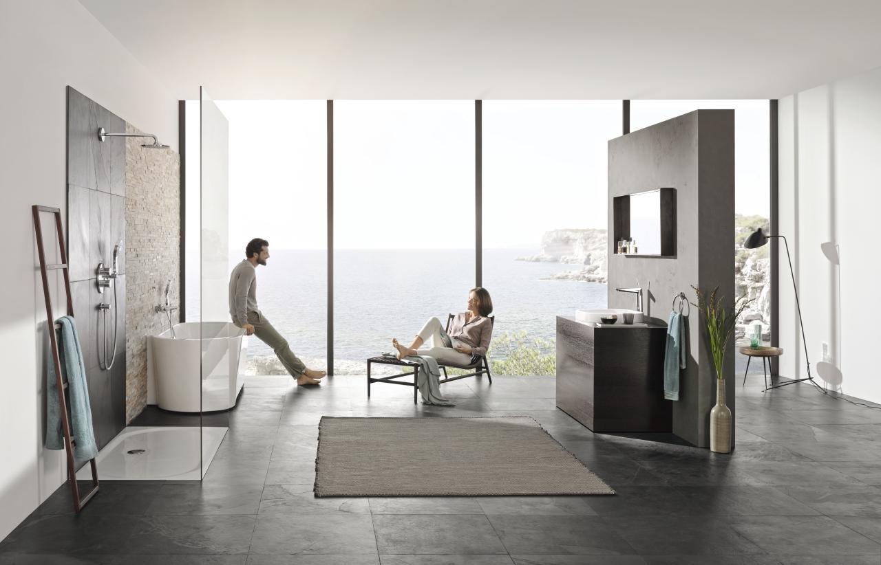 Смесители серии EURODISC JOY от Grohe 2015 в интерьере современной ванной