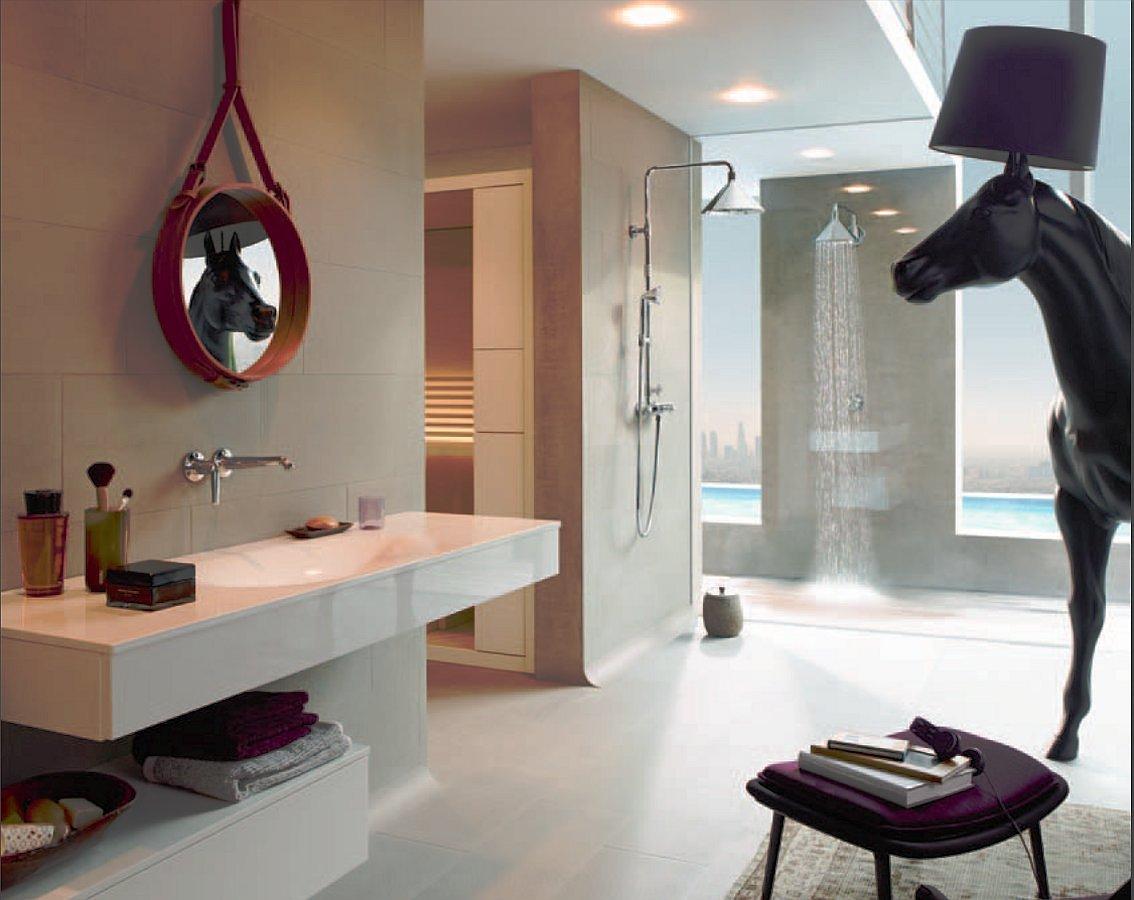 Коллекция для душевой Axor ShowerProducts от Front