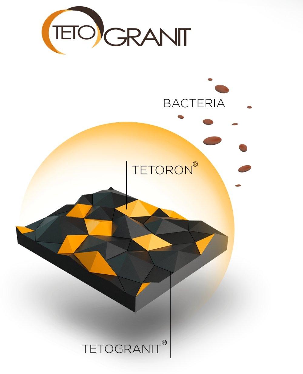 Изображение структуры искусственного камня для производства  кухонных моек от Omoikiri