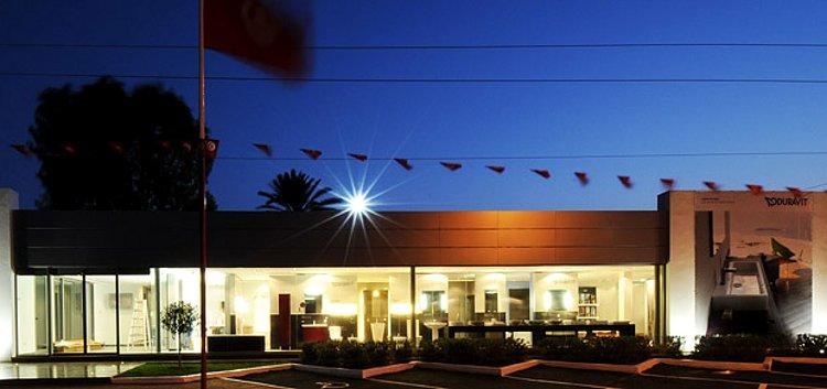 Шоурум Duravit в Бизерте (Тунис), где представлена санкерамика этой немецкой компании