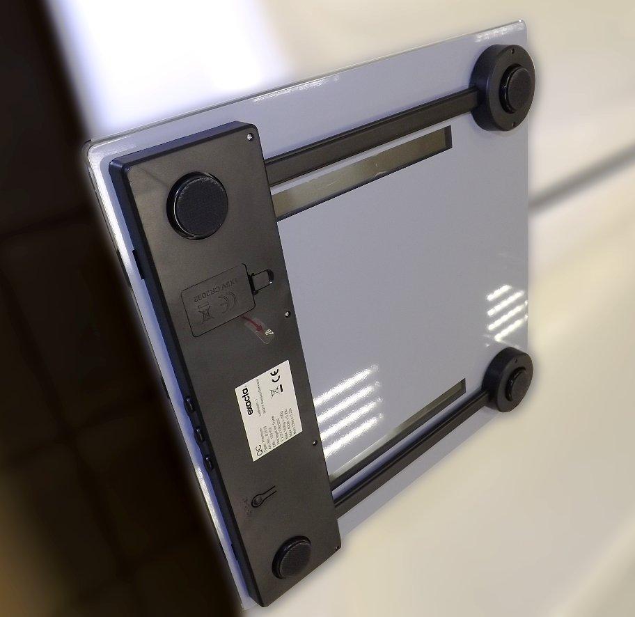 Иллюстрация к описанию размышлений, как выбрать напольные весы для ванной комнаты. Весы Soehnle Exacta. Вид Г
