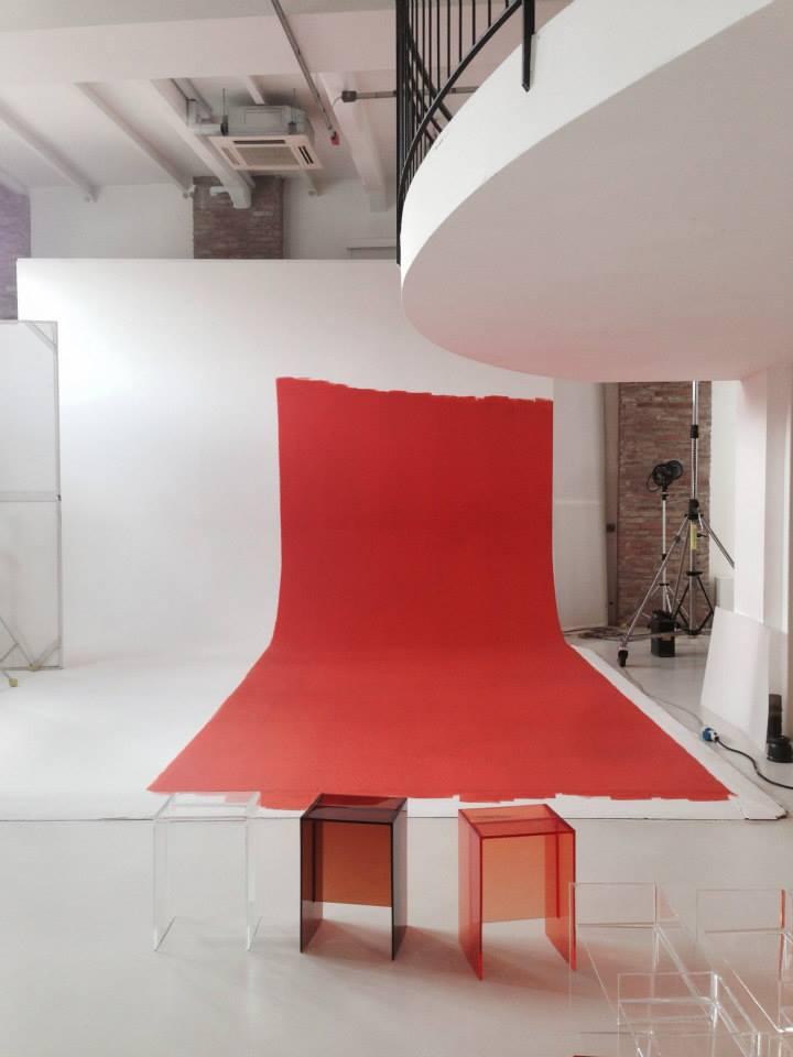 Подготовка стенда Laufen и Kartell на выставке DEL MOBILE 2014 в Милане