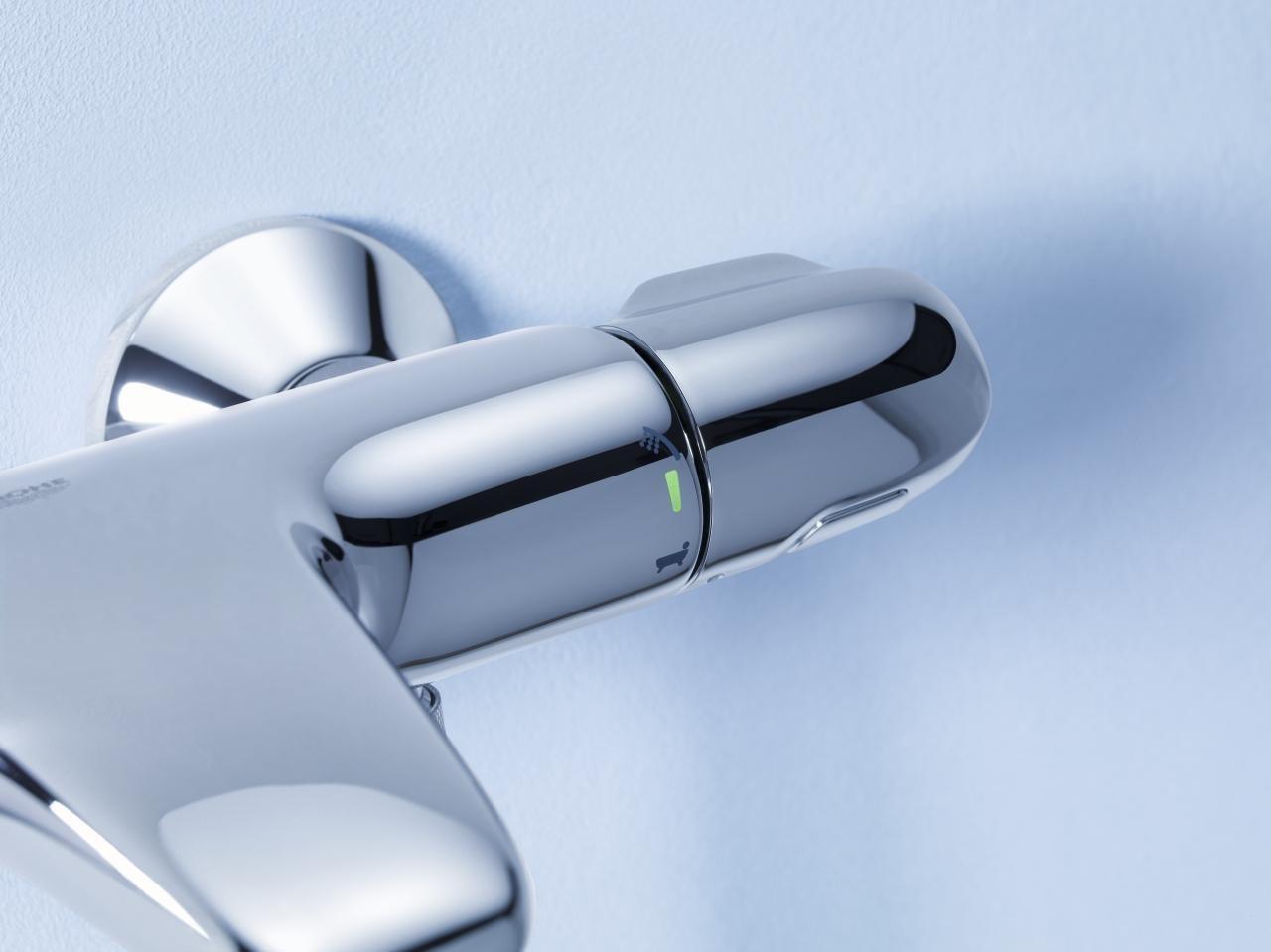 Термостатический смеситель GROHTHERM 1000 New от Grohe 2015 для ванны