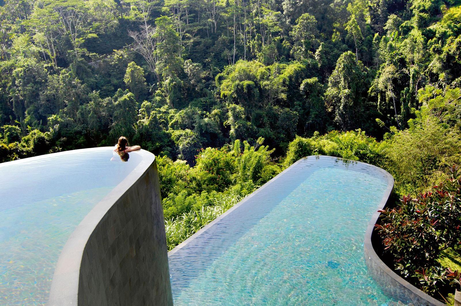 Бассейн в Ubud Hanging Garden
