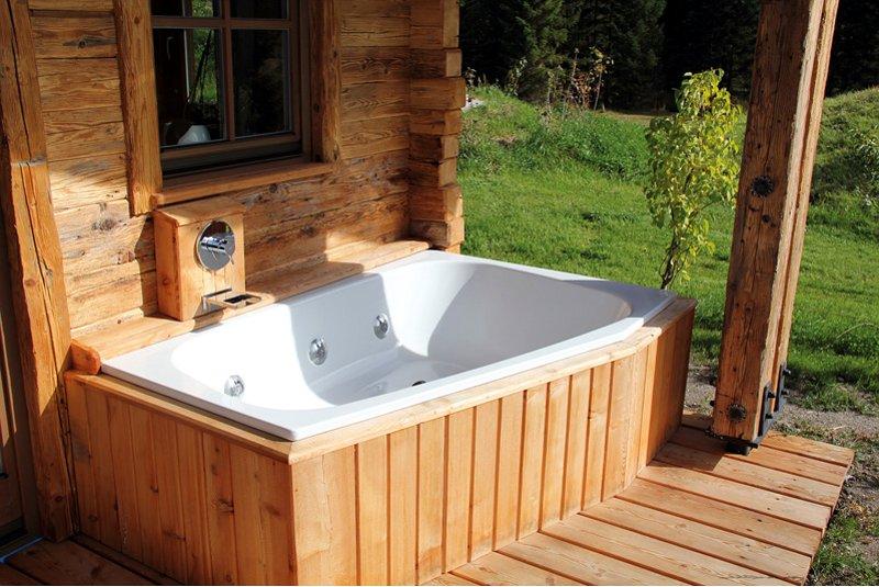 Двухместная ванна Plaza Duo от Kaldewei, оборудованная гидромассажной системой Vivo Turbo