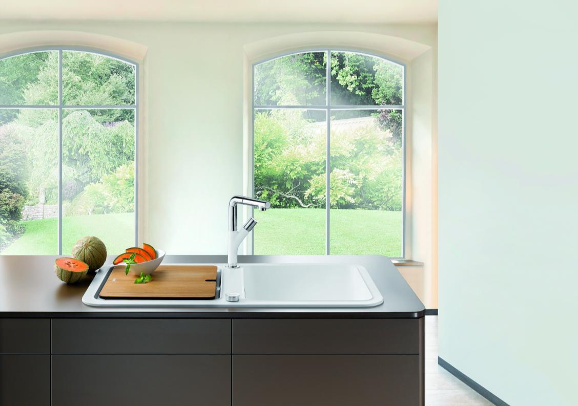 Кухонная мойка Blanco YOVA XL 6 S  с разделочной доской