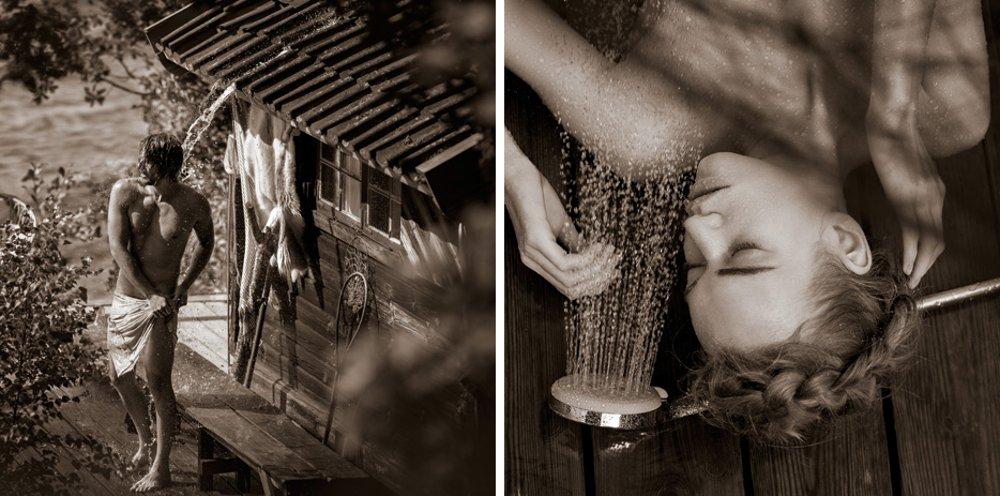 Фотоиллюстрации для календаря Hansgrohe 2015 - ноябрь и декабрь