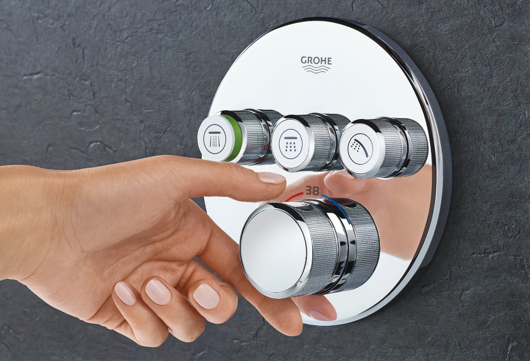 Grohe RainShower SmartControl: скрытый монтаж