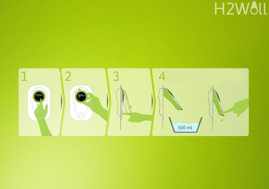 Кухонный смеситель-дозатор H2Wall