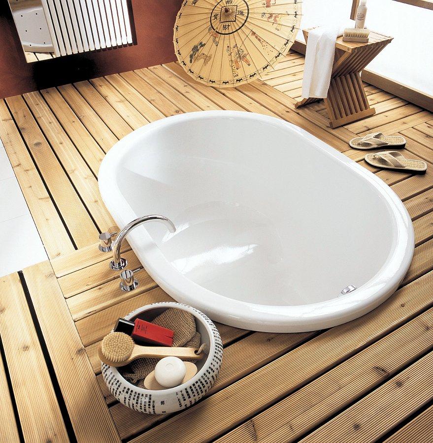 Стальная эмалированная ванна Kaldewei Kusatsu Pool. Вид Г