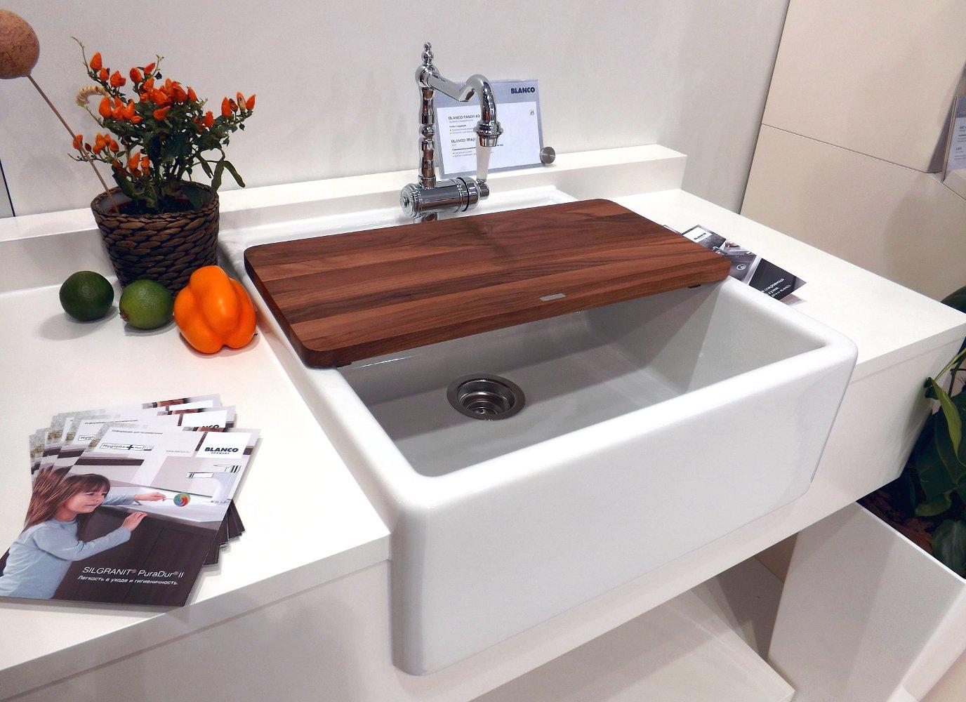 Керамическая кухонная мойка Blanco PANOR 60 на выставке МЕБЕЛЬ - 2013