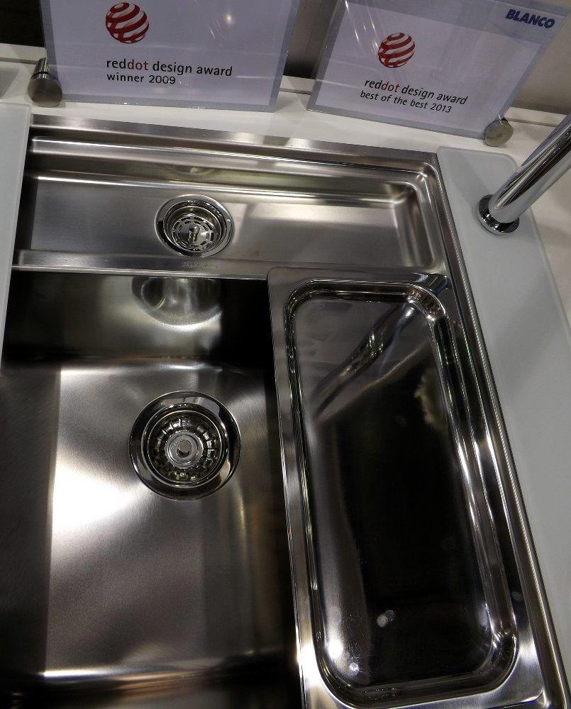 Кухонная мойка STATURA 6-IF Crystal Line и смеситель VONDA Control. Вид Г