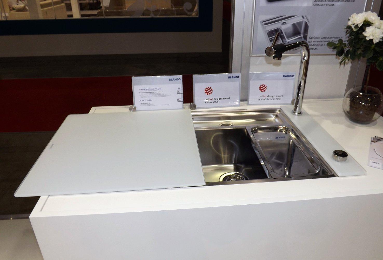 Кухонная мойка STATURA 6-IF Crystal Line и смеситель VONDA Control. Вид Б