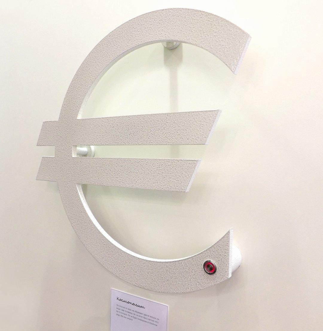 Дизайн-радиатор в форме знака € от «Сунержа» на международной строительной выставке «МосБилд 2016»