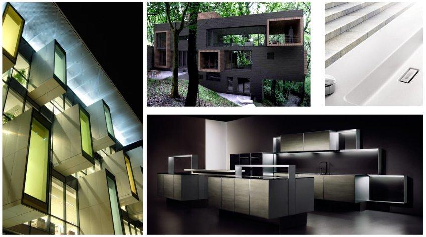 Архитектурные образы в стиле минимализма, требованиям которого отвечает новая мойка Blanco 2014