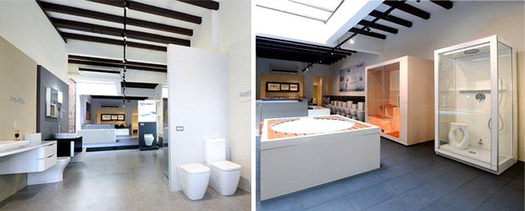Шоурум Duravit в Сингапуре, где представлена санкерамика этой немецкой компании