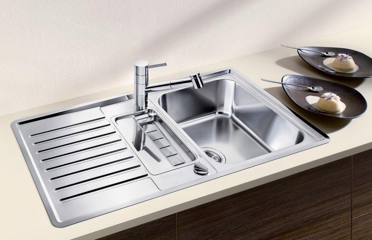 Кухонная мойка из нержавейки и аксессуары Blanco