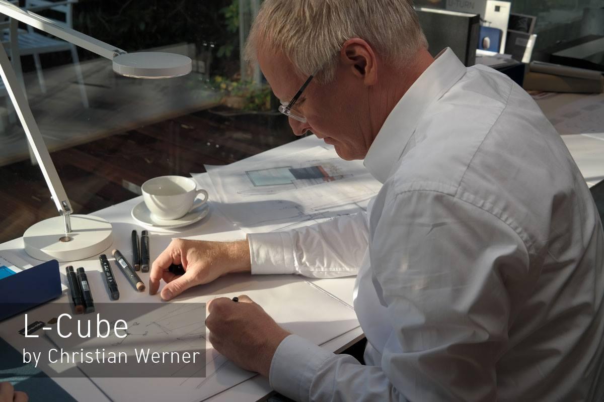 Автор коллекции мебели для ванной L-Cube от Duravit 2015 - Кристиан Вернер