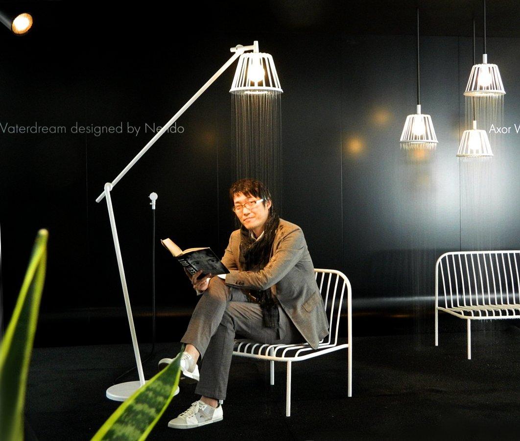 Душ с подсветкой Axor LampShower от Nendo