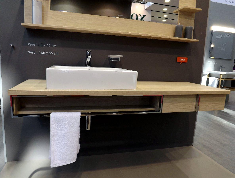 Мебель и санкерамика для ванной из коллекции Duravit VERO на выставке MosBuild 2014 - вид Н