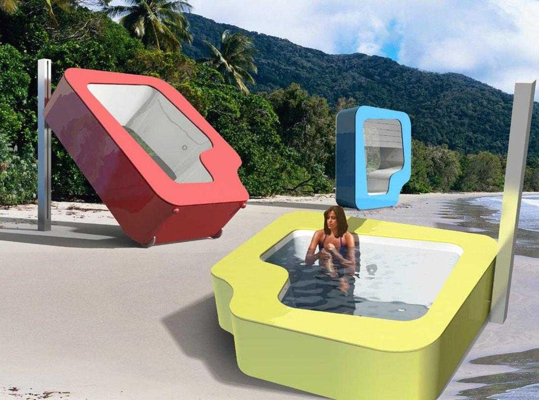 Ванна и душ в одном модуле — проект А. Малыгина