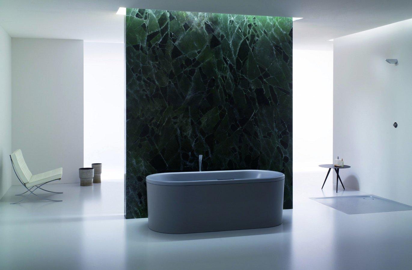 Cтальная эмалированная ванна Kaldewei с матовым вариантом отделки покрытия