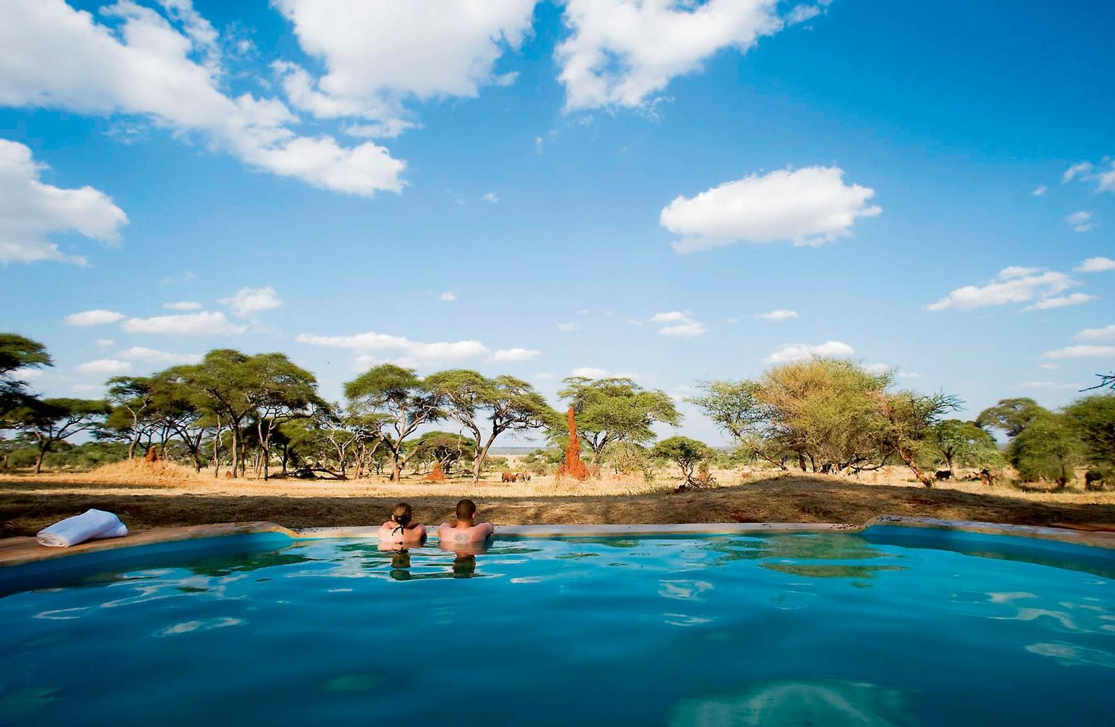 Бассейн в Sanctuary Swala