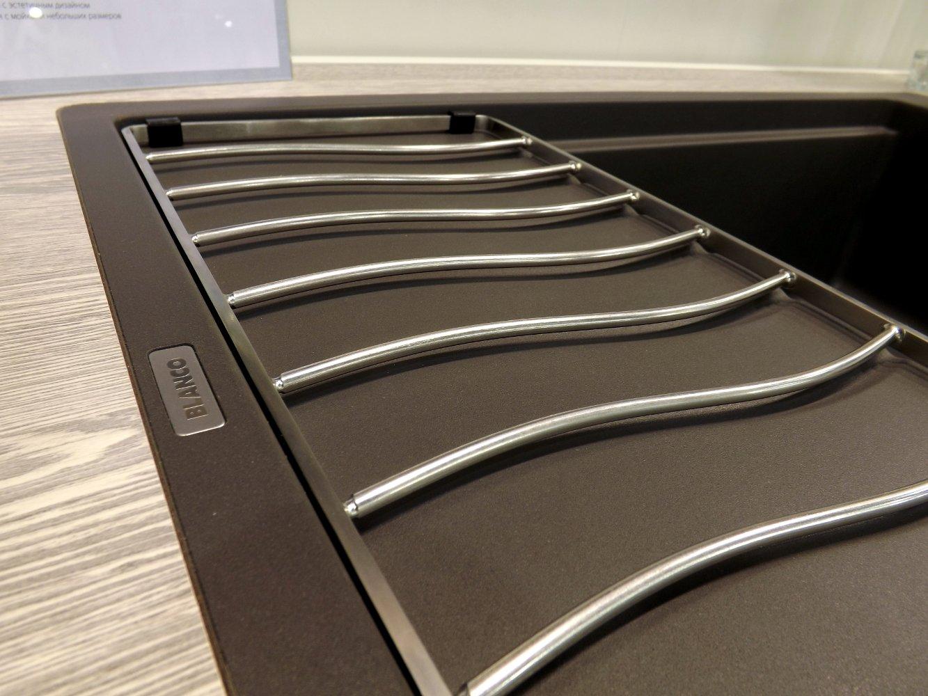 Кухонная мойка ELON XL 6 S-F и смеситель ALTA-S Compact. Вид Б
