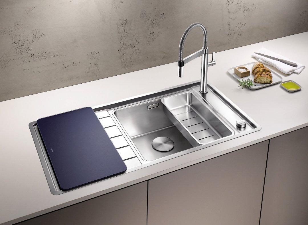 Кухонная мойка серии ANDANO из числа новинок, предлагаемых Blanco в 2016 году