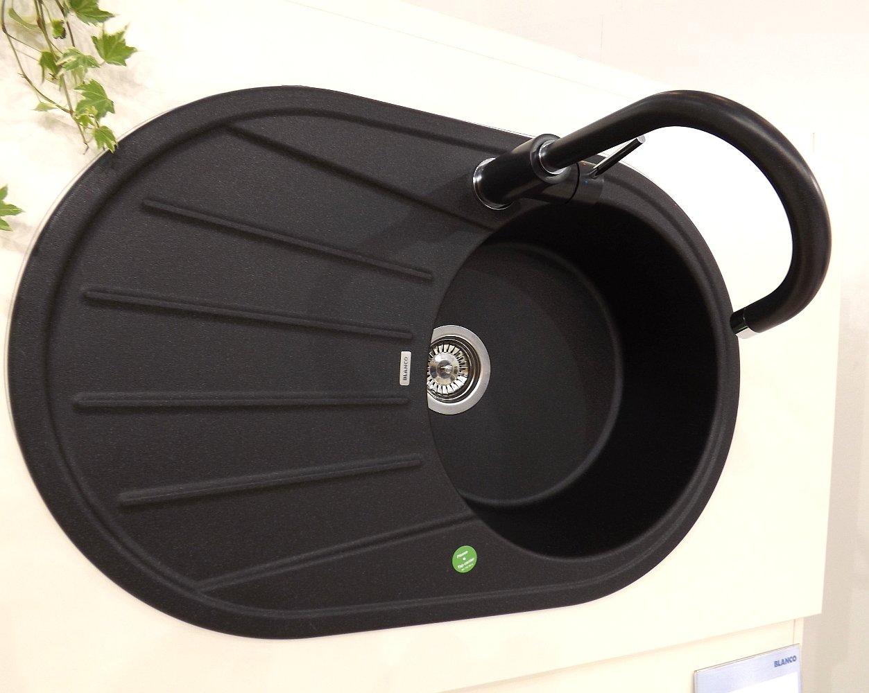 Кухонная мойка Blanco TAMOS 45S из материала PROGRANIT со смесителем Blanco MIDA на выставке МЕБЕЛЬ-2013